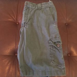 Billabong dark gray cargo shorts